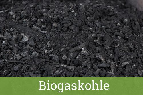 Biogaskohle